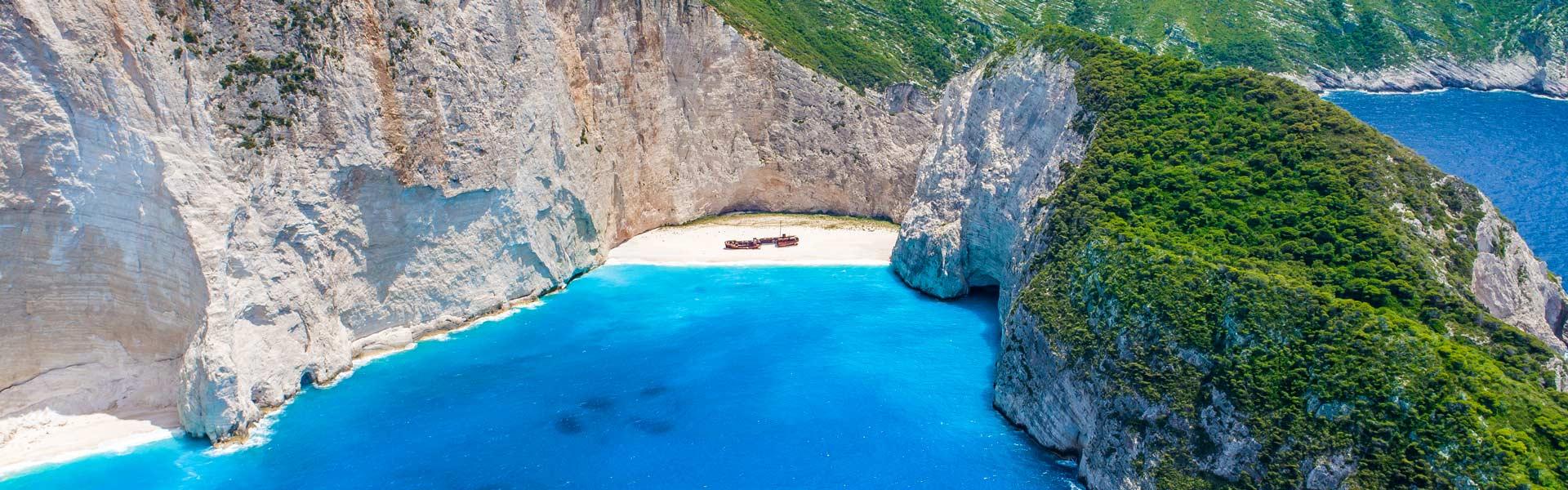 Zakynthos Shipwreck Blue Caves