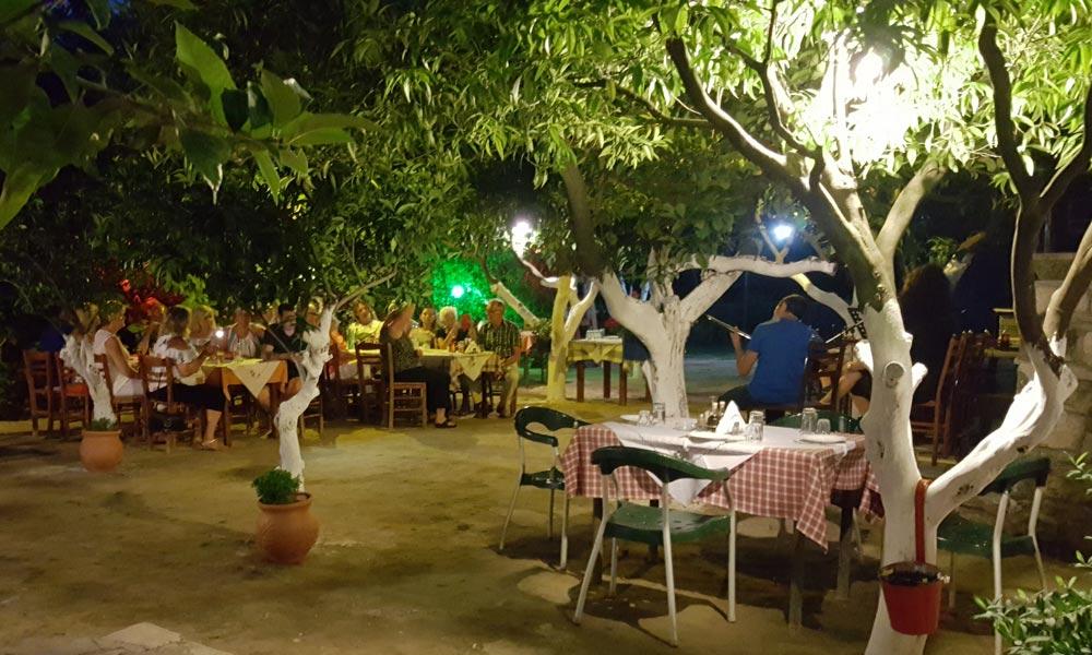 Greek night in Zakynthos Zante