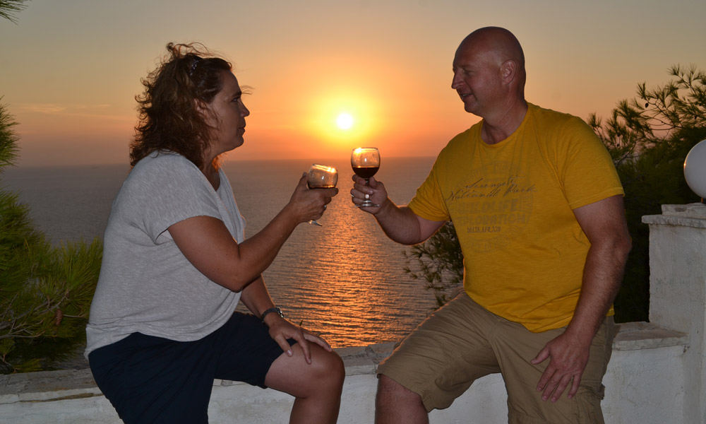 Wedding proposal in Zakynthos