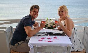 Wedding proposal in Zakynthos