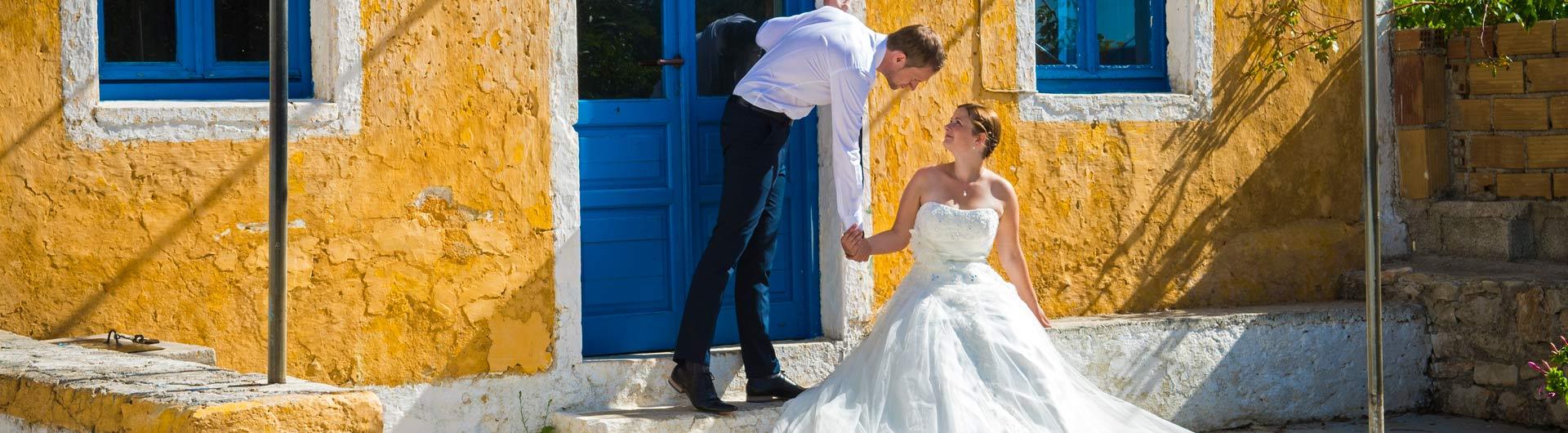 Wedding photo shoot in Zakynthos