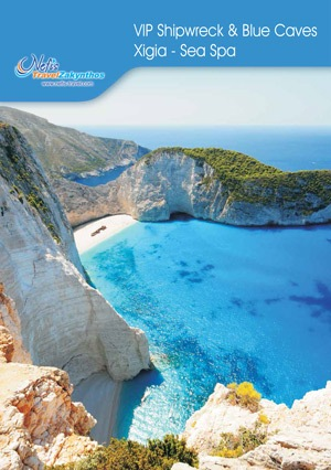 Shipwreck and Blue Caves brochure