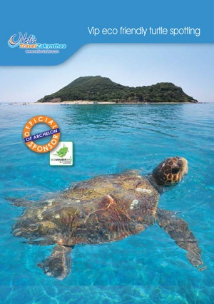 Eco Friendly Turtle Spotting brochure