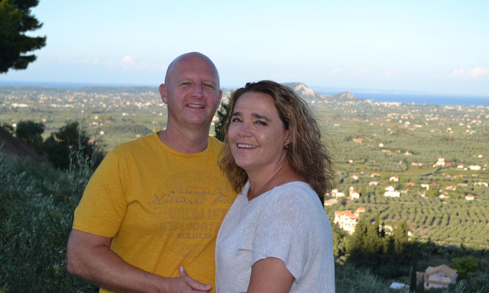 Huwelijksaanzoek op Zakynthos