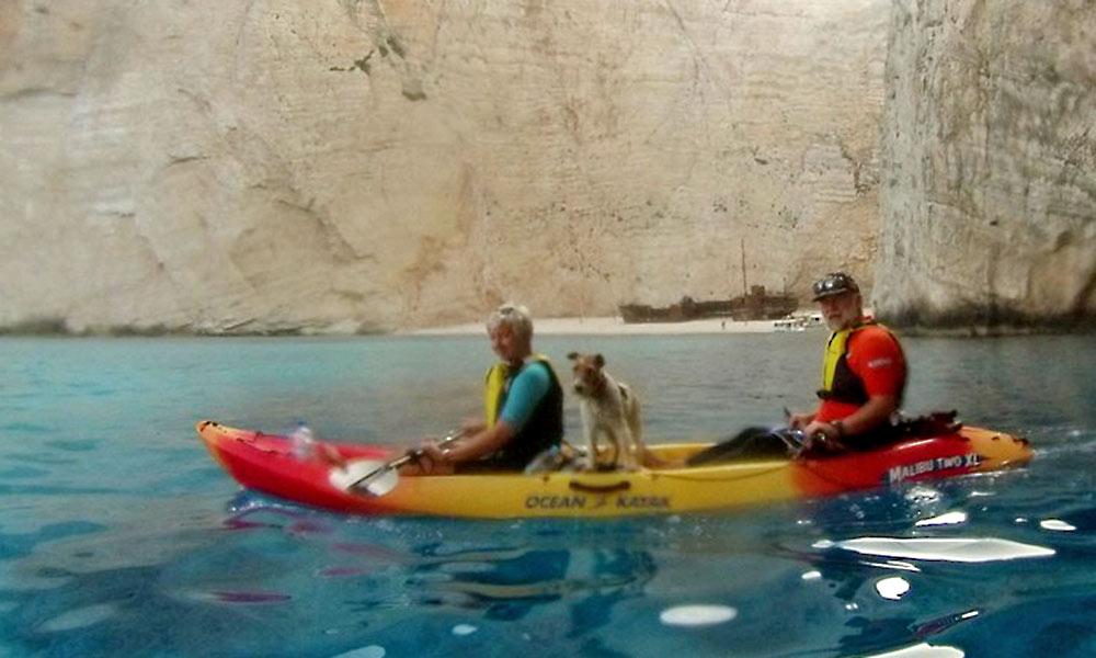Sea Kayaking in Zakynthos Zante - Nefis Travel Zakynthos