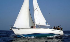 Sailing in Zakynthos Zante
