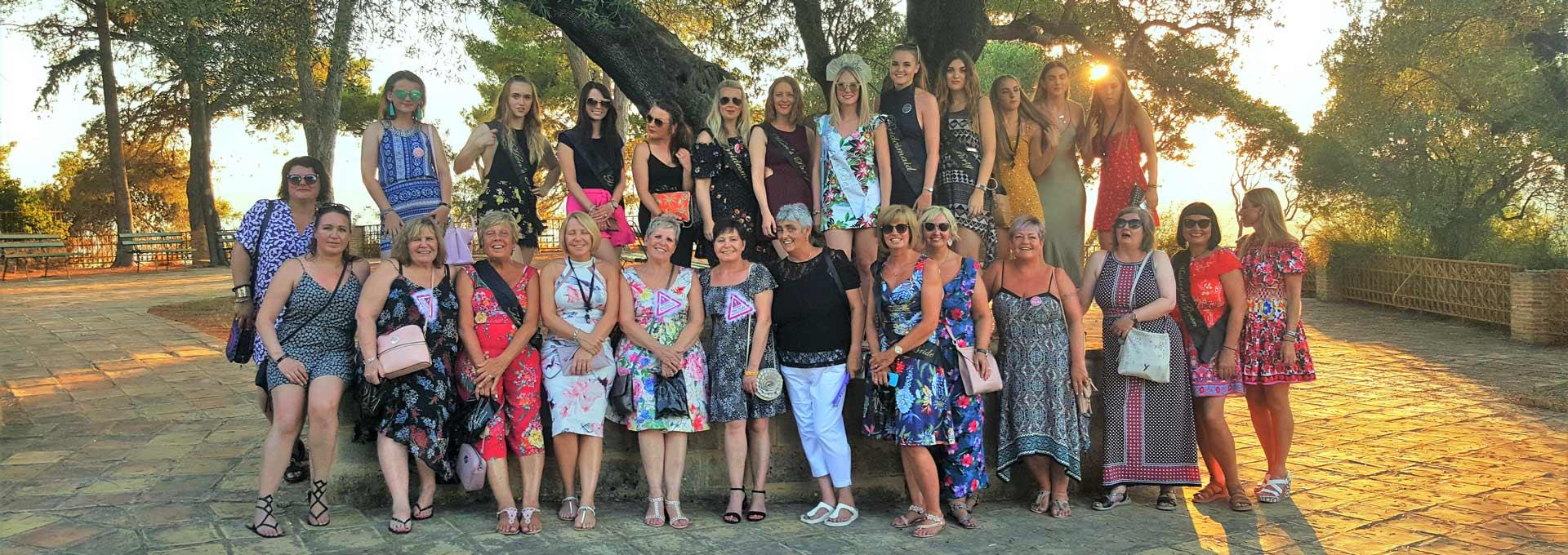 Hen party in Zakynthos Zante