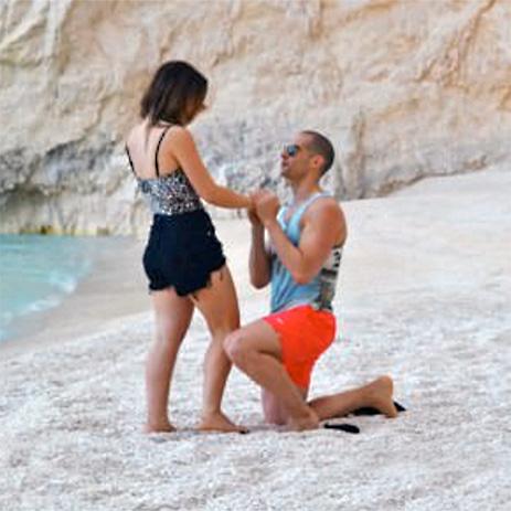 Zakynthos Huwelijksvoorstel reis