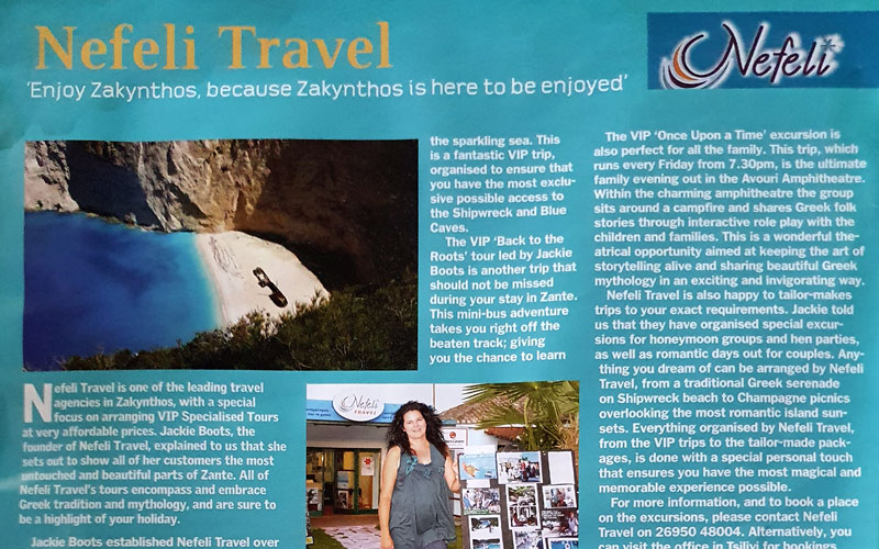 Nefeli Travel on Stigmes magazine
