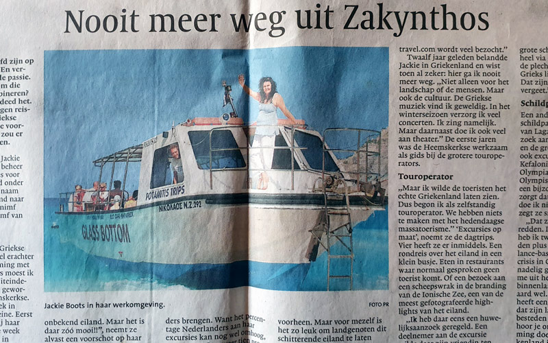 Interview on Noordhollands Dagblad